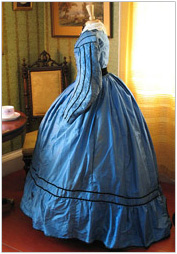 Rachel Cox 1867 wedding dress